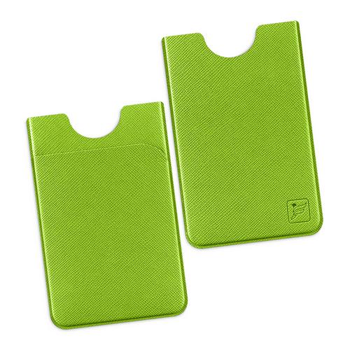 Чехол с двойным карманом, цвет зеленый
