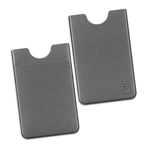 Чехол с двойным карманом, цвет серый