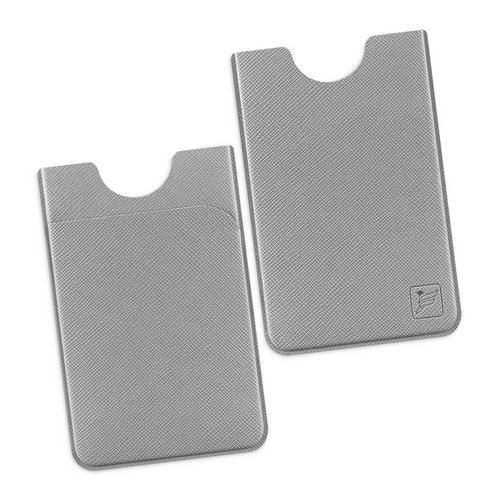 Чехол с двойным карманом, цвет светло-серый