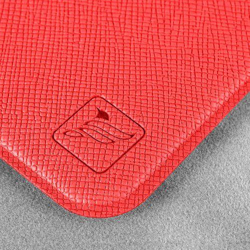 Чехол с двойным карманом, цвет красный