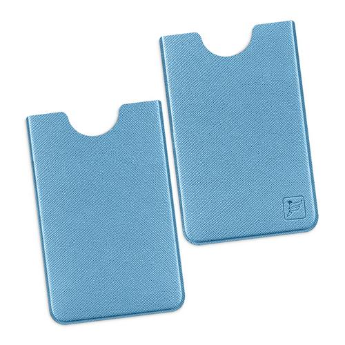 Чехол для пластиковой карты, цвет голубой