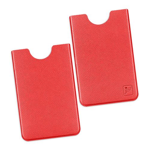 Чехол для пластиковой карты, цвет красный