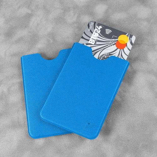 Чехол для пластиковой карты, цвет синий