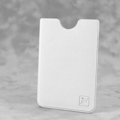 Чехол для пластиковой карты, цвет белый