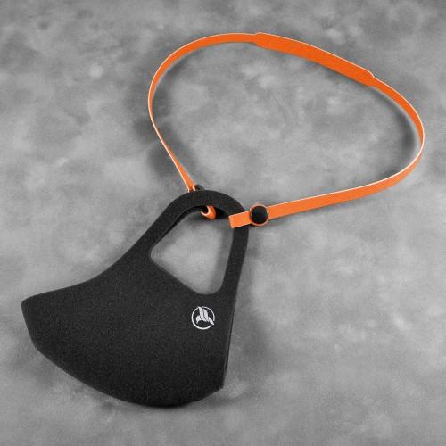 Держатель для многоразовой маски, цвет оранжевый