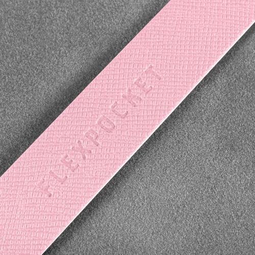 Держатель для многоразовой маски, цвет розовый