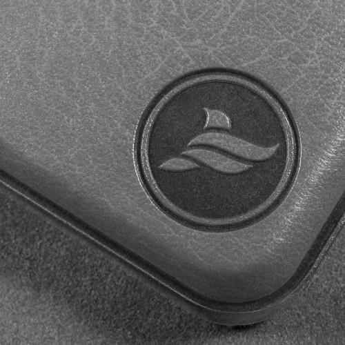 Органайзер для документов A4 на кольцах, цвет серый classic