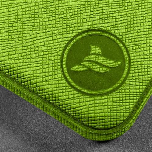 Органайзер для документов A4 на кольцах, цвет зеленый