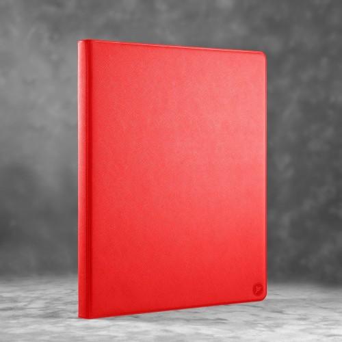 Органайзер для документов A4 на кольцах, цвет красный