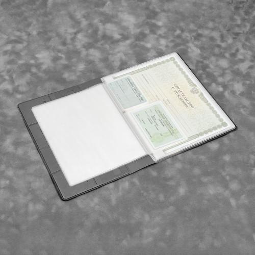 Органайзер для документов, цвет серый classic