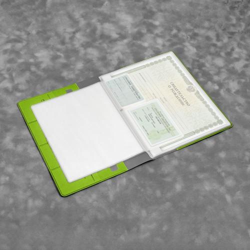 Органайзер для документов, цвет зеленый