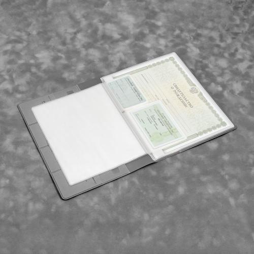 Органайзер для документов, цвет светло-серый