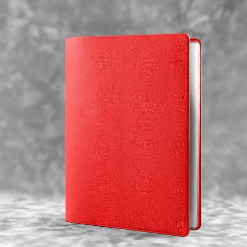 Органайзер для документов - большой, цвет красный