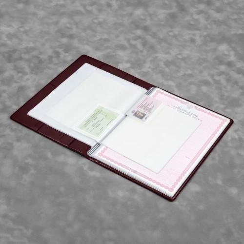Органайзер для документов A4, цвет коричневый classic