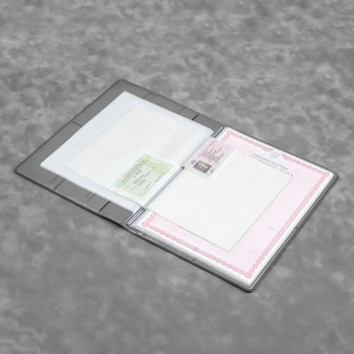 Органайзер для документов A4, цвет серый classic