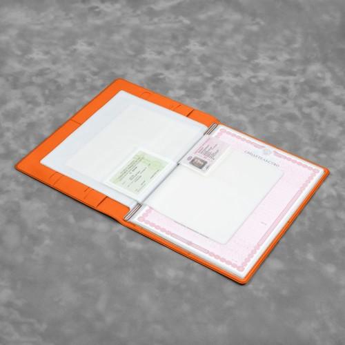 Органайзер для документов A4, цвет оранжевый