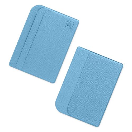 Футляр для пластиковых карт, цвет голубой