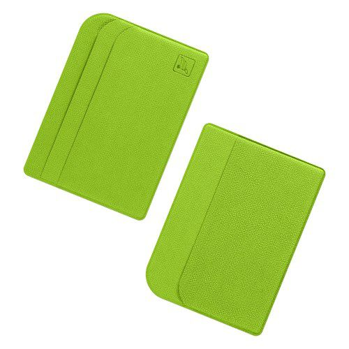 Футляр для пластиковых карт, цвет зеленый