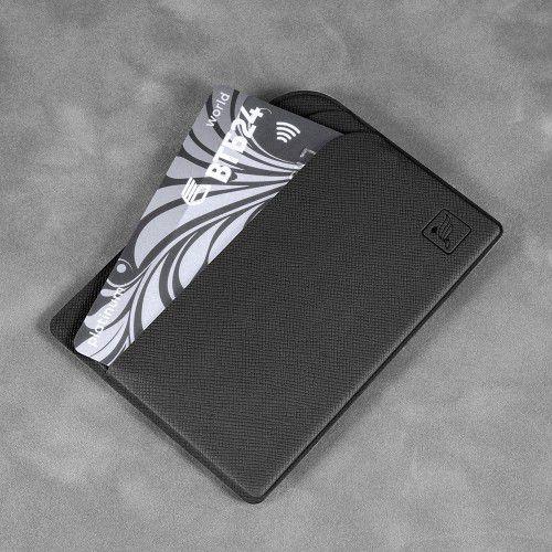 Футляр для пластиковых карт, цвет черный