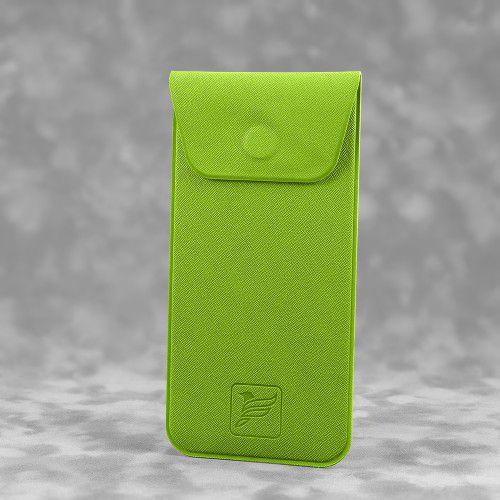 Футляр для ручек, цвет зеленый