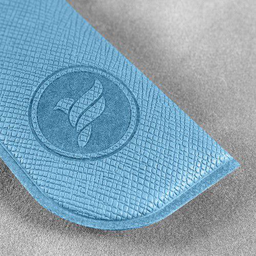 Футляр для ручки, цвет голубой