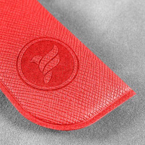 Футляр для ручки, цвет красный