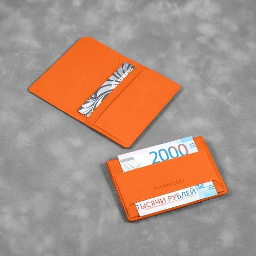Жесткий футляр с клапаном, цвет оранжевый