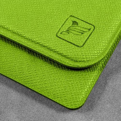 Жесткий футляр с клапаном, цвет зеленый