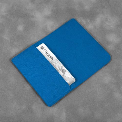 Жесткий футляр для трех пластиковых карт, цвет синий
