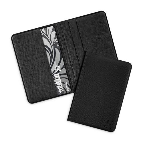 Жесткий футляр для пластиковых карт, цвет черный