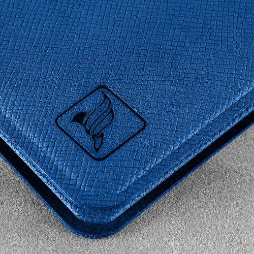 Жесткий футляр для пластиковых карт, цвет темно-синий