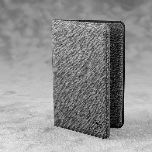 Жесткий футляр для пластиковых карт, цвет серый