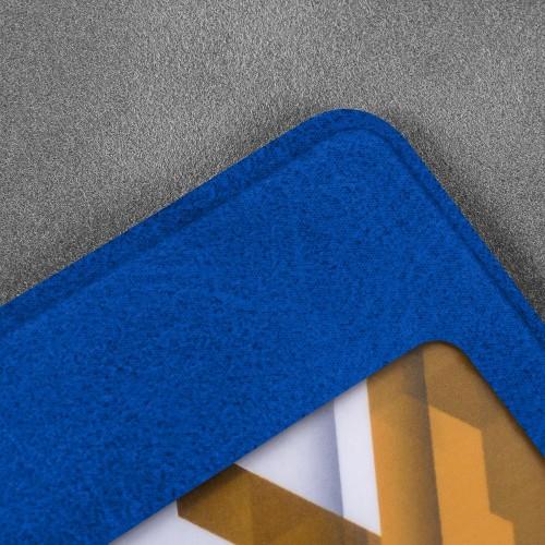 Карман горизонтальный, цвет синий classic