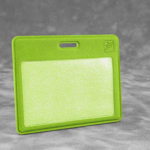Карман горизонтальный, цвет зеленый