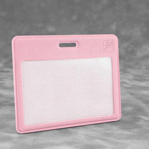 Карман горизонтальный, цвет розовый