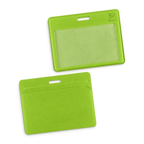 Карман горизонтальный с дополнительным отделением, цвет зеленый