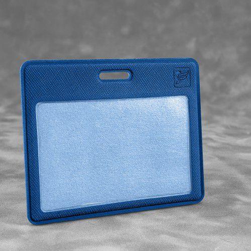 Карман горизонтальный с дополнительным отделением, цвет темно-синий
