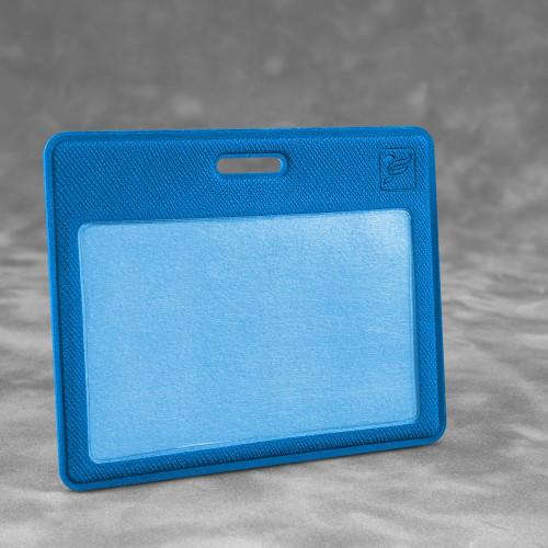 Карман горизонтальный с дополнительным отделением, цвет синий
