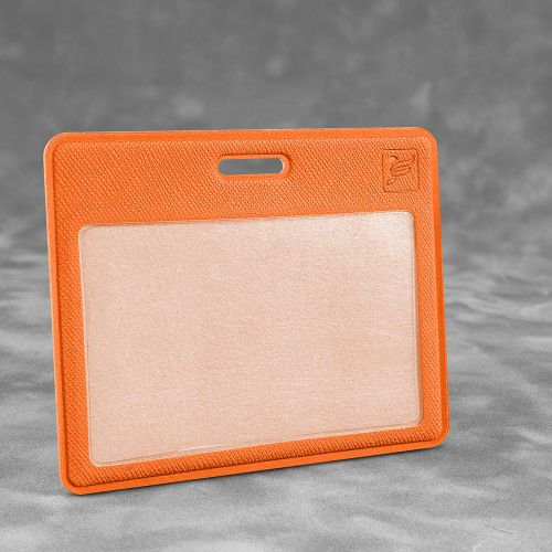 Карман горизонтальный с дополнительным отделением, цвет оранжевый