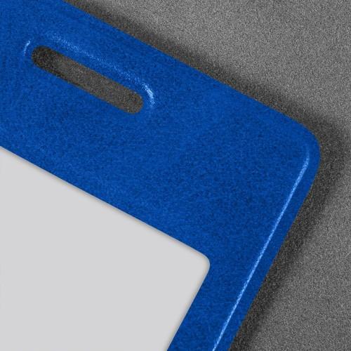 Карман вертикальный, цвет синий classic