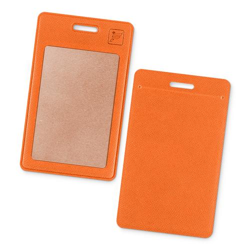 Карман вертикальный, цвет оранжевый
