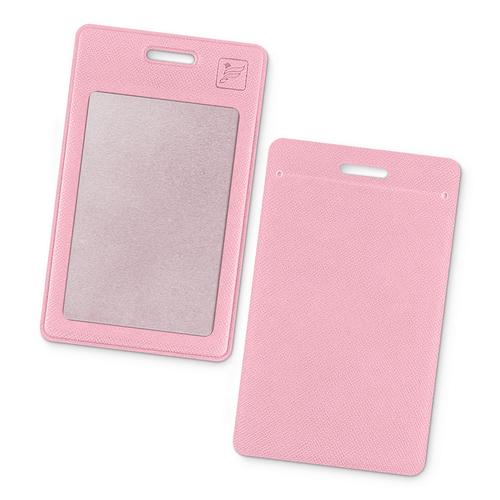 Карман вертикальный, цвет розовый