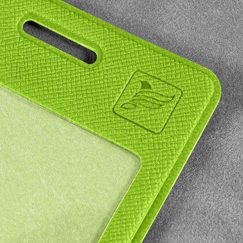 Карман вертикальный, цвет зеленый
