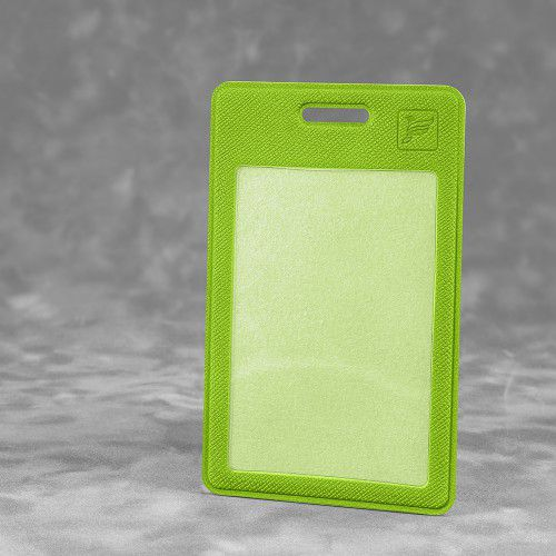 Карман вертикальный с дополнительным отделением, цвет зеленый