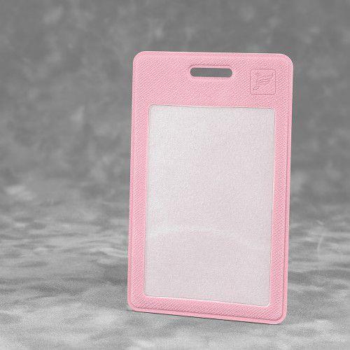Карман вертикальный с дополнительным отделением, цвет розовый