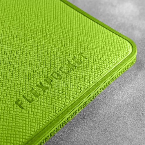 Карман с магнитным замком - вертикальный, цвет зеленый
