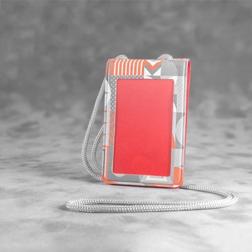 Карман с магнитным замком - вертикальный, полноцветная печать