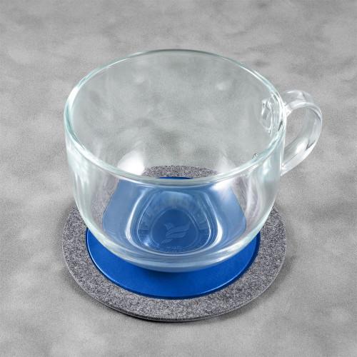 Костер из фетра, цвет синий classic