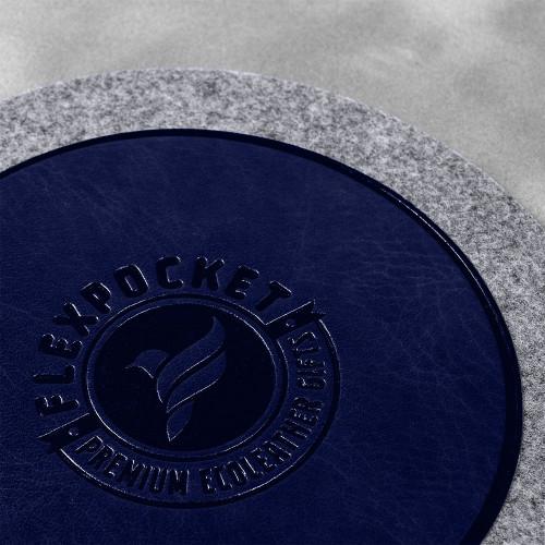 Костер из фетра, цвет темно-синий classic