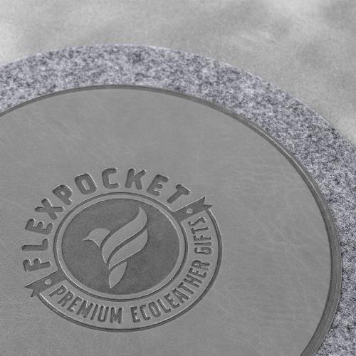 Костер из фетра, цвет серый classic